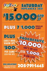 game flyer